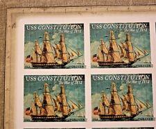Stamp Collector: War of 1812-USS Constitution (Full Pane, USA, 2012, Scott 4703)