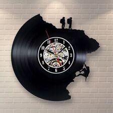 Climbing Sport Retro Vinyl Record Wall Clock Modern Mountain Art Gift For Men