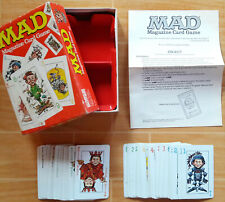 VINTAGE Parker Brothers 1979 Mad Magazine CARD GAME RARE COMPLETE