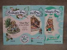 1995 Pendelfin Times 3 Issues from Family Circle