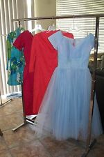 Vintage 50's Lot of 4 Pieces Prom Dress, Wiggle Dress,Top...All need work
