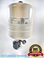 Kit per autoclave idrosfera 24 L pressostato manometro vaso espansione serbatoio