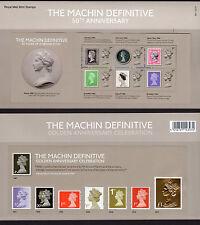 2017 MACHIN 50th ANNIVERSARY MINI SHEETS PRESENTATION PACK 541