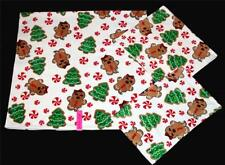3 Betsey Johnson Christmas Trees Gingerbread Girls Bath Hand Fingertip Towels
