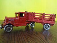 "A C Williams 10"" Cast Iron Truck Trailer semi Coast to Coast Cartage Co."