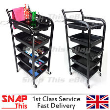 Salon Hairdresser Barber Hair Storage Trolley Beauty Drawers Spa - N0.3