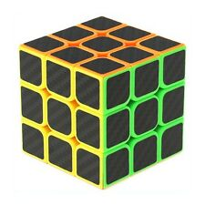 3x3x3 3x3 Speed Cube Puzzle Twist Game Carbon Fiber Sticker Kids Educational Toy