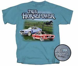 True Horsepower Ford Mustang T-Shirt - BOSS 302 & Shelby Mustangs - LAST ONES!
