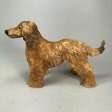 Conversation Concepts Afghan Hound Dog Figurine, Orig Paper Label, Resin