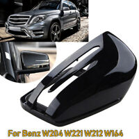 Left Black Wing Mirror Cover For Mercedes-Benz W204 X204 W212 W221 C300 C218
