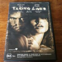 Taking Lives DVD R4 Like New! FREE POST