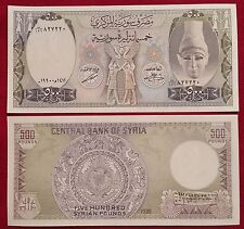SYRIA 500 pounds 1990 P-105e UNC