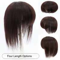 100% Human Hair Topper Large Cover Toupee Clip in Hairpiece Top Pieces for Women