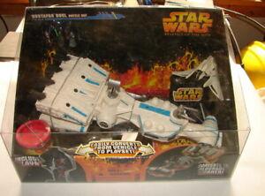 Star Wars Micro Machines Hasbro Mustafar Duel Tantive IV playset HTF MIP D62