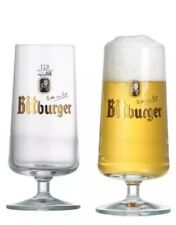 Bitburger  Imported 0.5l Glass X 2