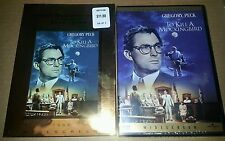 To Kill A Mockingbird Collector's Edition 1998 DVD Brand New Sealed w slip cover