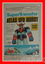 ATLAS UFO ROBOT GOLDRAKE Supertranfer 2 TRASFERELLI Edierre 1978 GOLDORAK nuovi