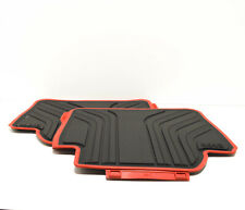 BMW 3 F30 Rear Rubber Floor Mats Set LHD 51472219803 NEW GENUINE