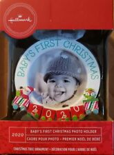 Hallmark 2020 Christmas Ornament Baby's First Christmas Photo Frame DATED  #123