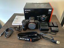Sony Alpha a7R III 42 MP Digital SLR Camera - Black - 284 Shutter Count + Extras