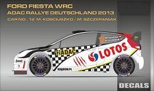 DECALS 1/24 FORD FIESTA WRC #12 KOSCIUSZKO - RALLYE ADAC 2013 - MF-ZONE DC2420