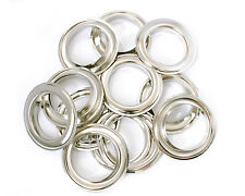 40mm Curtain Eyelet Rings Metal Brass Round Grommets Leather Crafts - 10 Pcs