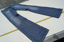 Ronhary DIESEL Jeans Donna Pantaloni anca Stretch 28/34 w28 l34 STONE WASH BLU #46