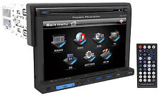"New Power Acoustik PD-710 Single DIN 7"" Car Stereo DVD/USB Player Receiver"