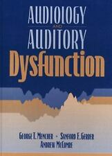 Audiology and Auditory Dysfunction by Mencher, George T., Gerber, Sanford E., M