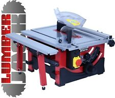 "Powerful 1200W Bench Table Saw with Sliding Side Extension & 210mm 8"" Blade 240V"