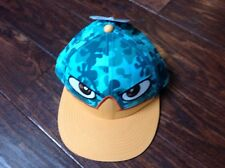 NewWalt Disney Parks Phineas And Ferb Perry Snapback Hat Camo Flat Bill Ball Cap