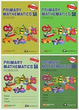 Singapore Primary Math Grade 5 Kit (US ED)-Workbook/Textbook 5A+5B-FREE SHIPPING