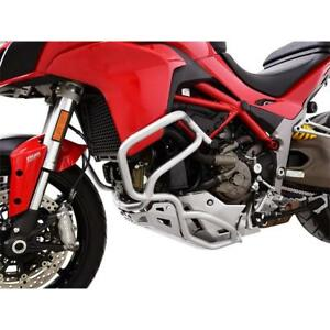 Ducati Multistrada 1200 Yr 15-17 Crash BAR Silver Ibex