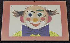 Schöner Bilderrahmen Clowns-Bild Gedruckt 28cm x 20 cm Rahmenlos Bunt TOP
