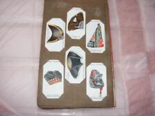 UK Issue In Unbranded Album Collectable Cigarette Cards