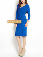 Knee-Length Machine Washable Solid Dresses for Women