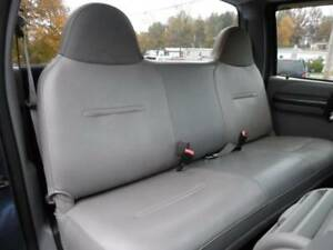 SOLID GRAY Mesh Fabric Bench seat cover Fit's Ford F550,F650,F750 99-08 Truck's