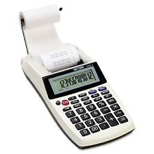 Victor 1205-4 Palm/Desktop One-Color Printing Calculator Black Print 2 Lines/Sec
