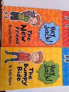 4x HEY JACK Kids BOOKS LOT Funny Humourous SALLY RIPPIN