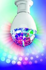 easy!maxx LED Partyleuchte Discokugel rotierende Lampe