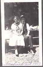 VINTAGE 1917 FERNBROOK PARK NILES CANYON CALIFORNIA SAN FRANCISCO PICNIC PHOTO