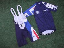 Entièrement neuf sans étiquette z3rod GBR Age Group British Triathlon Équipe Cycle Bib Shorts & Jersey XS