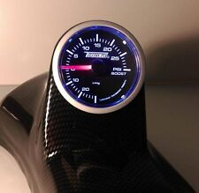 Clio ii Mk2. fibre de carbone effet o/s un pilier pod & turbosmart boost gauge kit