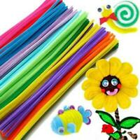 New Chenille Stems Pipe Cleaners Kids Craft Educational Toys Twist Rods Wire