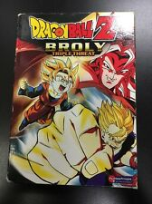 DragonBall Z - Broly Triple Threat 3-Pack (DVD, 2006, 3-Disc Set)