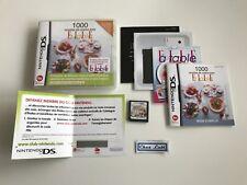 1000 Recettes De Cuisine Avec Elle À Table - Nintendo DS - FR - Avec Notice