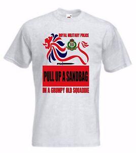 RMP T-Shirt Royal Military Police Tshirt or Sweatshirt Grumpy old squadie