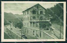 Bergamo Clusone Ponte della Selva Albergo Poggi cartolina QT0789