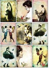Ziegfeld Girls Glossy Finish Card Making Toppers - Crafts Embellishment