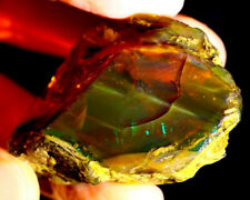 Beautiful Natural Ethiopian Crystal Opal Rough - Flash Fire - 118 cts - Big